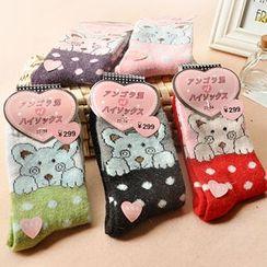 Magic Beauty - Bear Print Socks