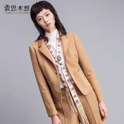Cloudwood - 刺繡西裝外套