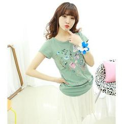 Dodostyle - Printed Short-Sleeve T-Shirt
