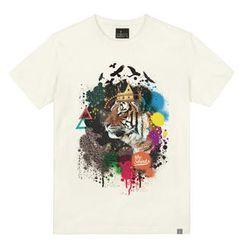 the shirts - Tiger Print T-Shirt