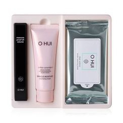 O HUI - Mascara Proof-all Volume Set : Volume Mascara 8ml + Foam 40ml + Cleansing Sheet 1pack