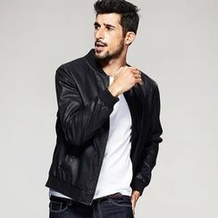 Quincy King - Faux Leather Jacket