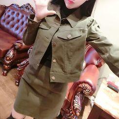 ZAPPA - Set: Cropped Jacket + Skirt