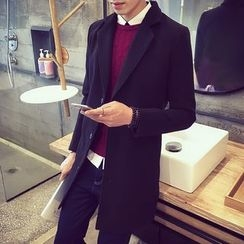 Better Man - Woolen Long Coat