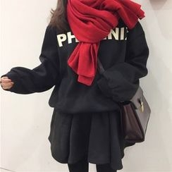 Dute - Set:  Fleece-lined Sweatshirt + Skirt