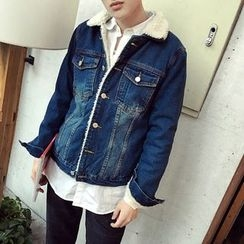 Soulcity - Fleece Lined Denim Jacket
