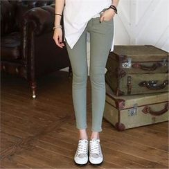 CHICFOX - Colored Skinny Pants