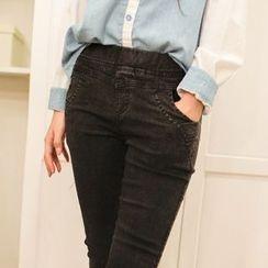 微米家 - 窄身牛仔褲