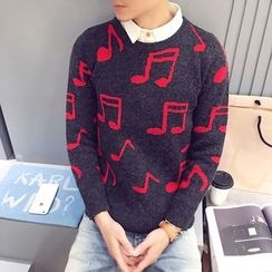 JVR - Musical Note Sweater