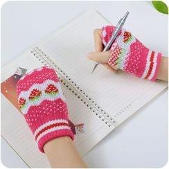 VANDO - Half-Finger Knit Mittens