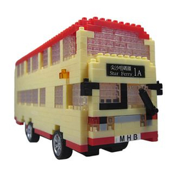 M.H. Blocks - Hong Kong Bus Toy Building Blocks