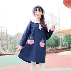 Moricode - 兔子水手領長袖連衣裙