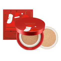 Innisfree - Christmas Ampoule Cover Cushion Special Set (With Refill) (N23 True Beige)