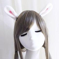 KOSUKE - Set: Rabbit Ear Hair Band + Hair Clamp