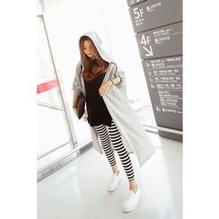 Momnuri - Maternity Stripe Leggings