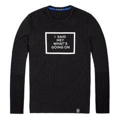 Wayne - Printed Pullover