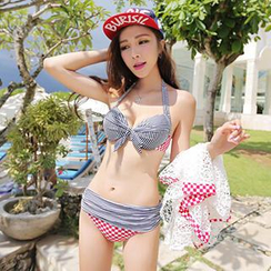 Little Dolphin - Couple Set: Women Bikini / Men Swim Shorts