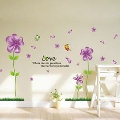 LESIGN - Floral Wall Stickers
