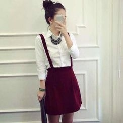 Ringnor - Set: Suspender Skirt + Shirt