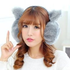 Reyna - Faux Fur Ear Warmers