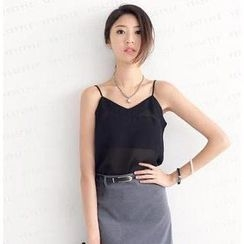 SO Central - V-Neck Chiffon Camisole