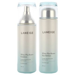 Laneige 兰芝 - White Plus Renew Set : Skin Refiner 120ml + Emulsion 100ml