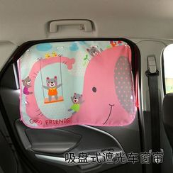 Lazy Corner - Car Suction Sunblock Curtain