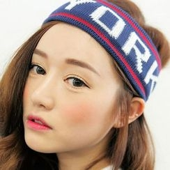 Frontline - Letter Knit Sports Headband