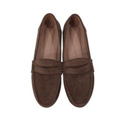 maybe-baby - Faux-Suede Penny Loafers