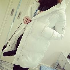 November Rain - Hooded Padded Coat