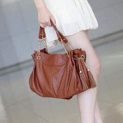59th Street - Tassel Detail Satchel