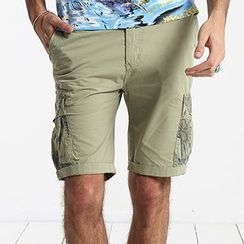 Simwood - Plain Cargo Shorts