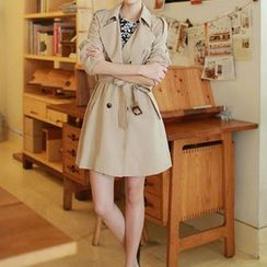 OTTI - Plain Trench Coat