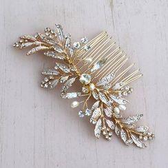 Vivian Design - Rhinestone Hair Comb / Hair Stick
