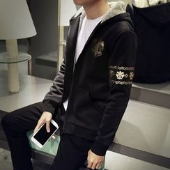 Seoul Boy - Bronzing Zip Jacket