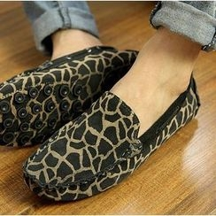 Hipsteria - Leopard Loafers
