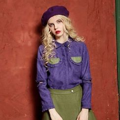 ELF SACK - Frilled Blouse