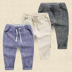 lalalove - Kids Linen Cotton Pants
