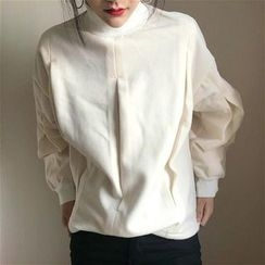 Alfie - Long-Sleeve Mock-Neck Top