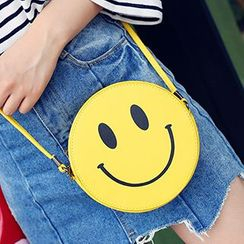 Youme - Smiley Face Shoulder Bag