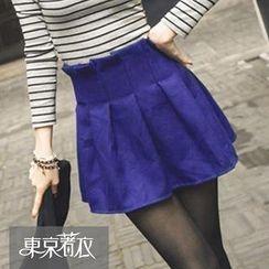 Tokyo Fashion - Paperbag-Waist A-Line Skirt