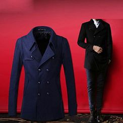 Evzen - Double Breasted Trench Jacket