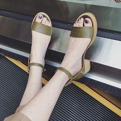 Zapatos - Chunky-Heel Sandals