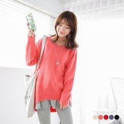 OrangeBear - Slouchy Knit Sweater