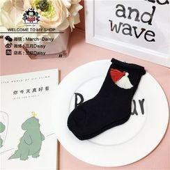 March Daisy - 小童流蘇防滑紋襪子