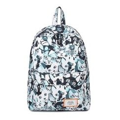 VIVA - Printed Canvas Backpack