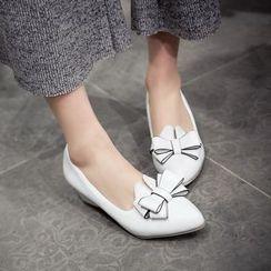 傾城 - 蝴蝶結尖頭高跟鞋