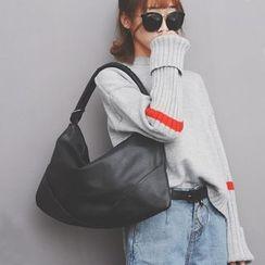 Clair Fashion - 韓國時尚皮革水餃包肩背包