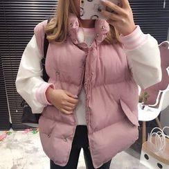 YUKISHU - Plain Padded Vest