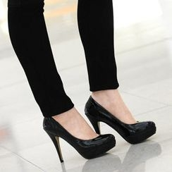 59th Street - Patent Platform Pumps
